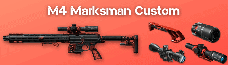 M4 Marksman Custom Варфейс