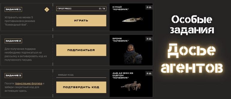 Досье агентов Варфейс